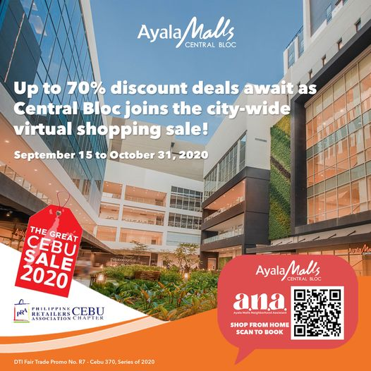 For the ultimate convenience and personalized, one-on-one shopping experience, contact ANA, Ayala Malls Neighborhood Assistant, at your service daily from 10:00 AM to 7:00 PM. | CebuFinest