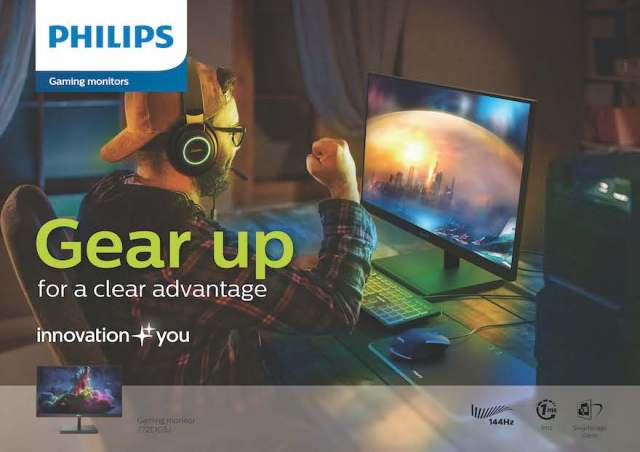 Philips Gaming is the new product line of Philips Monitors which will be catered towards video game enthusiasts.   CebuFinest