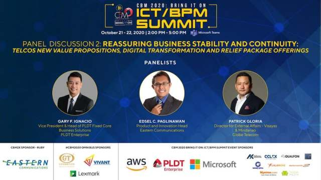 Cebu Business Month (CBM) 2020 continues to Bring IT On as 3 of the biggest telecommunications companies in the country come together in a very special event. | CebuFinest
