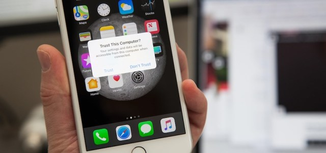 """As you've undoubtedly noticed, Apple devices like your iPhone and your iPad are now giving you """"Trust this computer?"""" dialogue if you connect your phone to a new machine or gadget. 