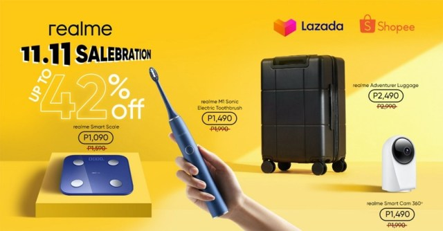 The biggest realme offers only on 11.11 | CebuFinest