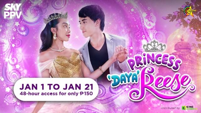 "Mayward's ""Princess Dayareese"" air on SKY Movies Pay-Per-View this New Year   CebuFinest"
