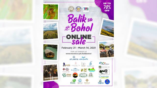 "Bohol to unveil massive tourism discounts with ""Balik Sa Bohol"" campaign | CebuFinest"