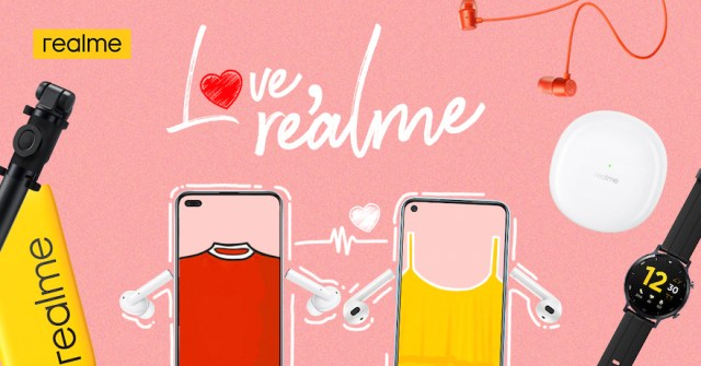 """Share the realme love this month with """"Love, realme"""" Valentine's Day Special Promo 