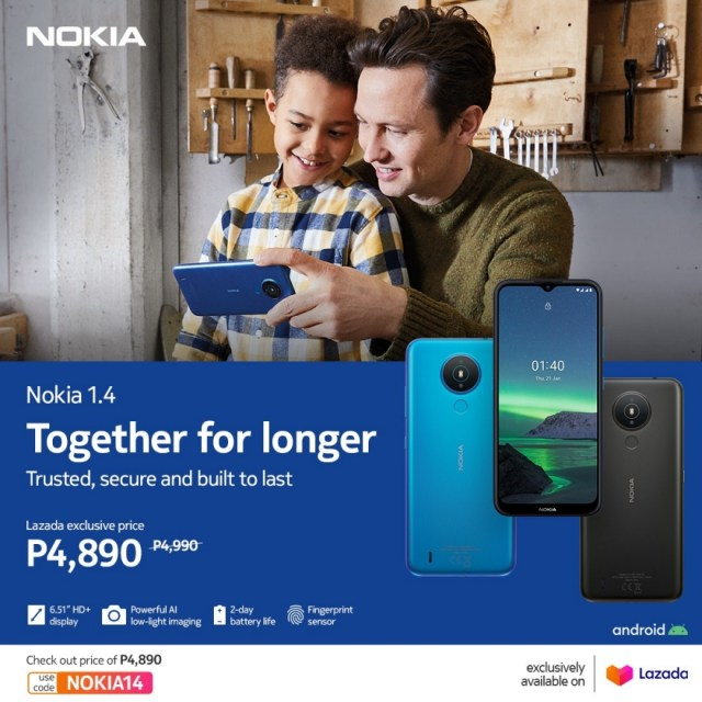 The Nokia 1.4: A phone engineered and built in the moment | CebuFinest