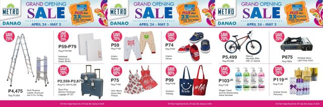 Metro Danao celebrates Grand Opening with 10-Day Sale | CebuFinest