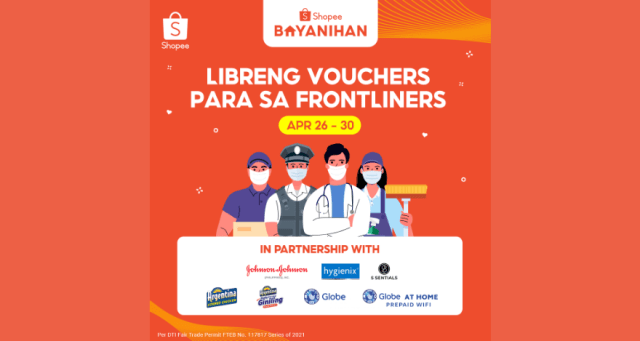 Globe Telecom gives back to frontliners through Shopee Bayanihan Program | CebuFinest