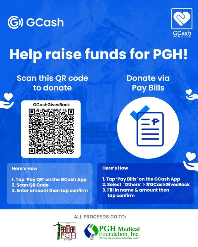 The #GCashGivesBack donation drive yields ₱1.87M for Philippine General Hospital | CebuFinest