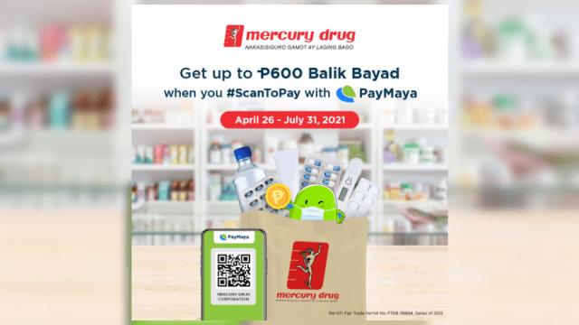 Get up to ₱600 cashback at Mercury Drug with PayMaya's #ParaSayoSuki promo | CebuFinest