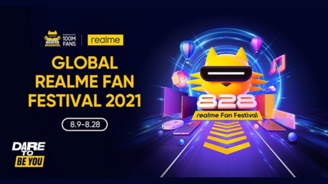"""PH's no. 1 smartphone brand realme celebrates """"Dare To Be You"""" Global Fan Fest this month   CebuFinest"""