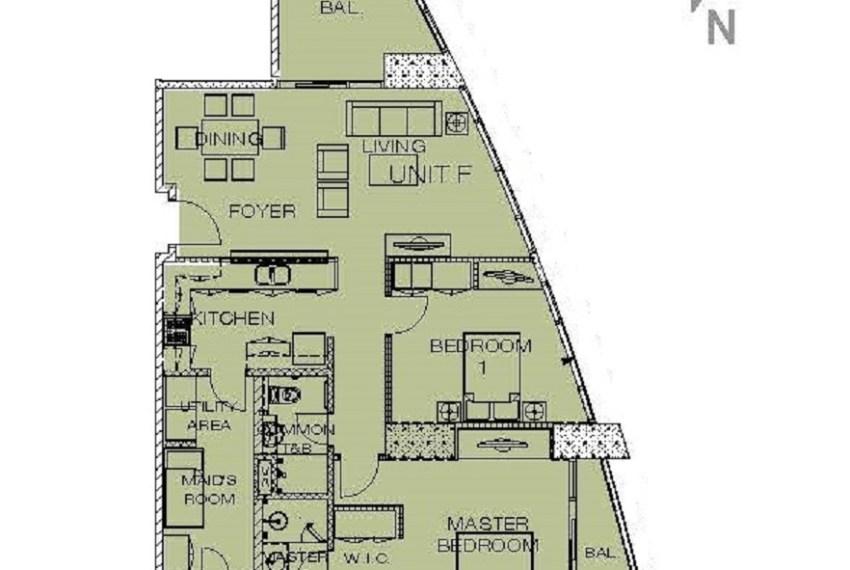 SRBPP7 2 Bedroom Condo for Sale in Park Point Residences Cebu Grand Realty (10)