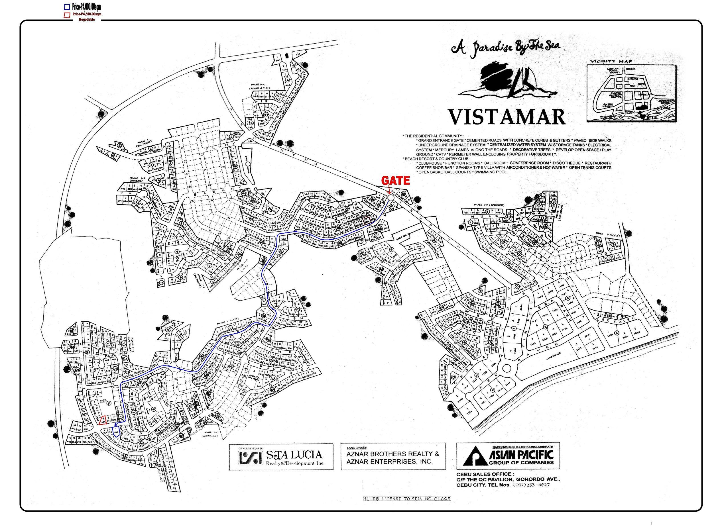 Vista Mar Subdivision