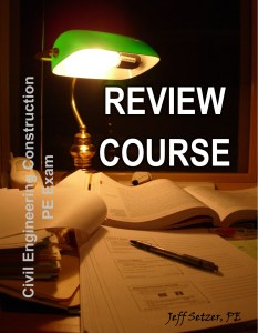 Civil Engineering Construction PE Exam Review Course