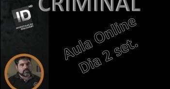 Aula online perfilamento criminal