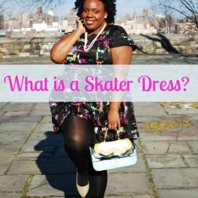 What is a Skater Dress PlusSizePrincess.com