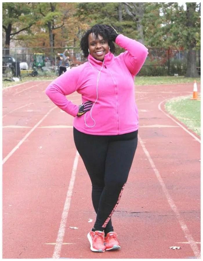 CeCe Olisa Plus Size Workout Clothes Winter