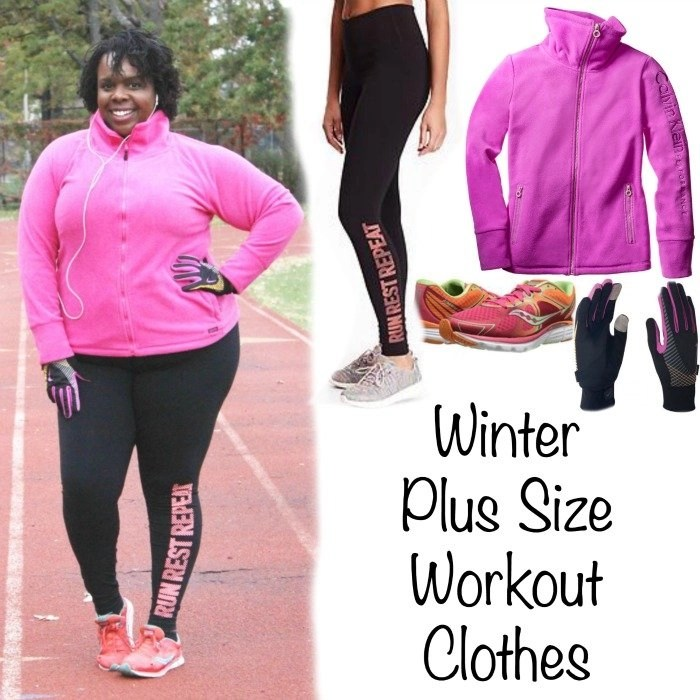 Winter Plus Size Workout Clothes