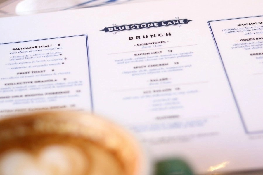 bluestone lane brunch menu