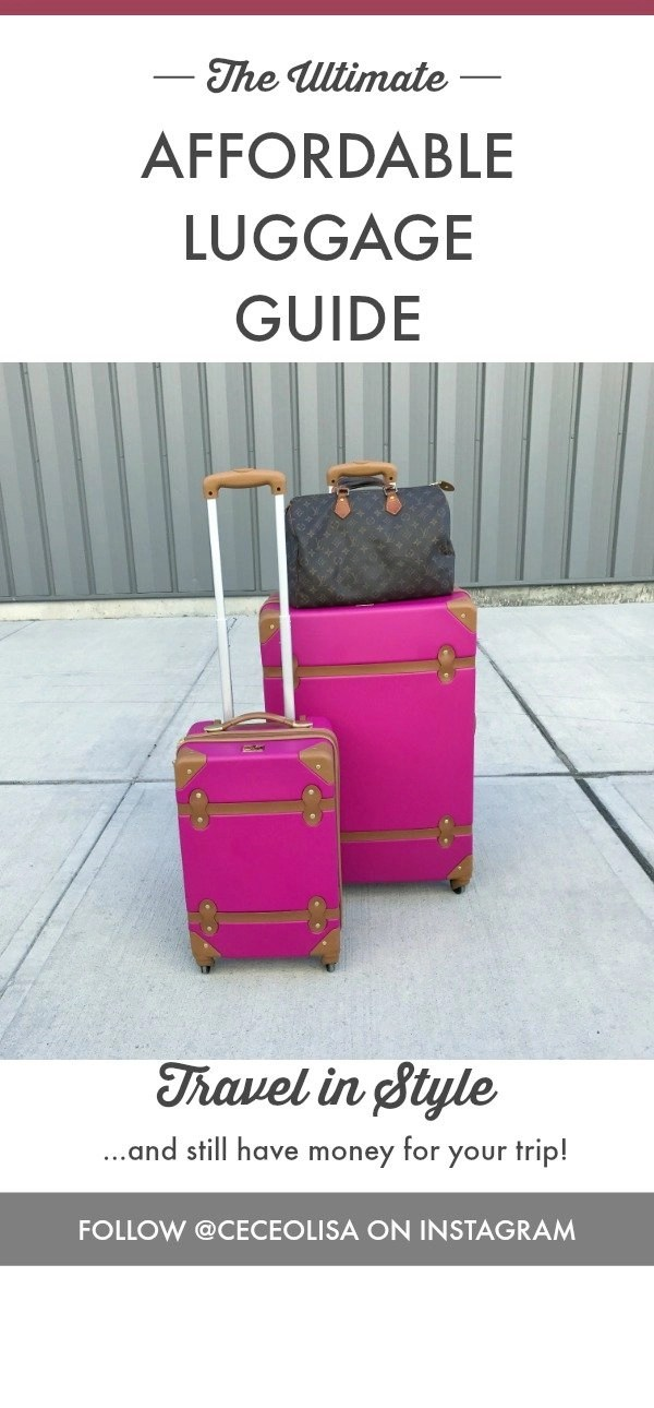 The Ultimate Affordable Luggage Guide