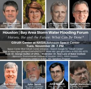 Houston & Bay Area Stormwater Flooding Forum @ Gilruth Center at NASA/Johnson Space Center | Houston | Texas | United States