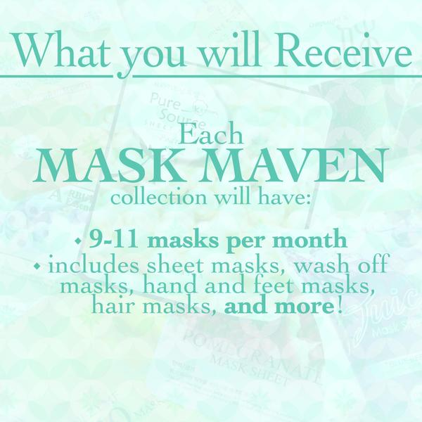 New Mask Subscription Service – Beauteque Mask Maven