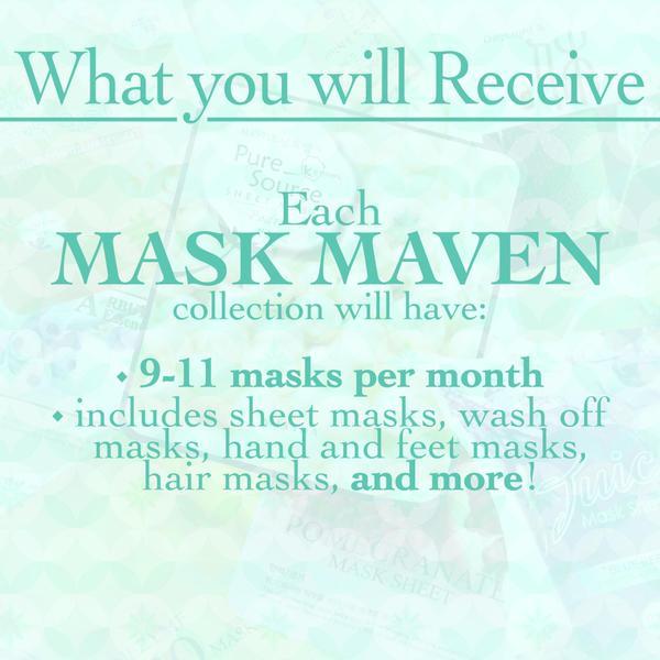 New Mask Subscription Service – Beauteque Mask Maven