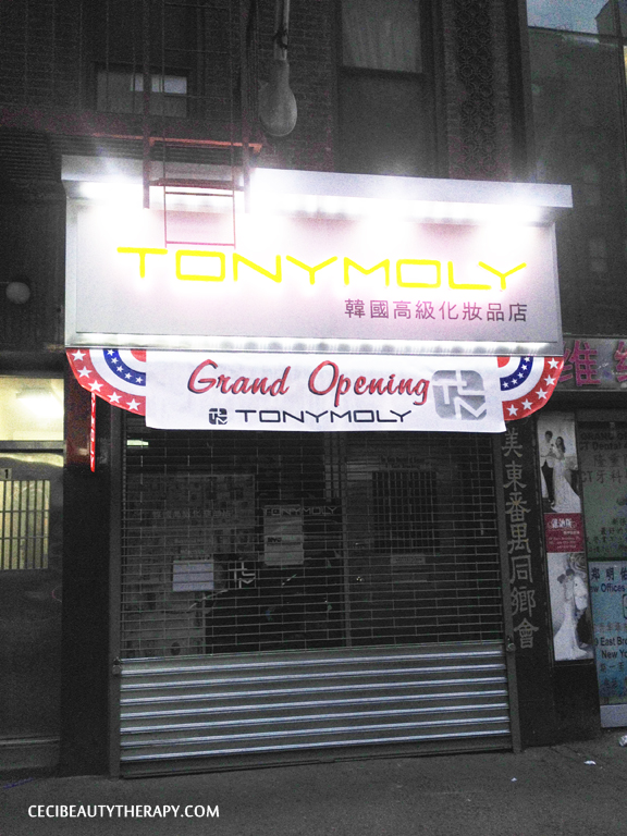 (CLOSED) Store Visit: TonyMoly Opening on 61 E. Broadway (Chinatown, NYC)
