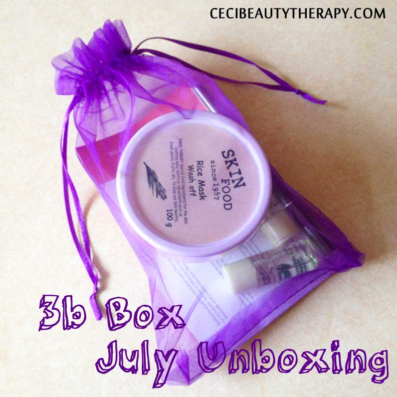 Unboxing July 3b (Beauty Beyond Borders) Box – Umm, the Skinfood edition