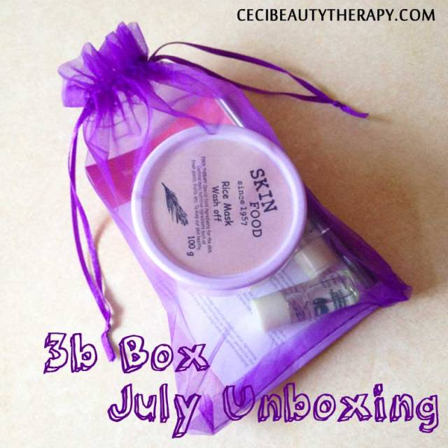 #b Box July Unboxing Reveal Cover