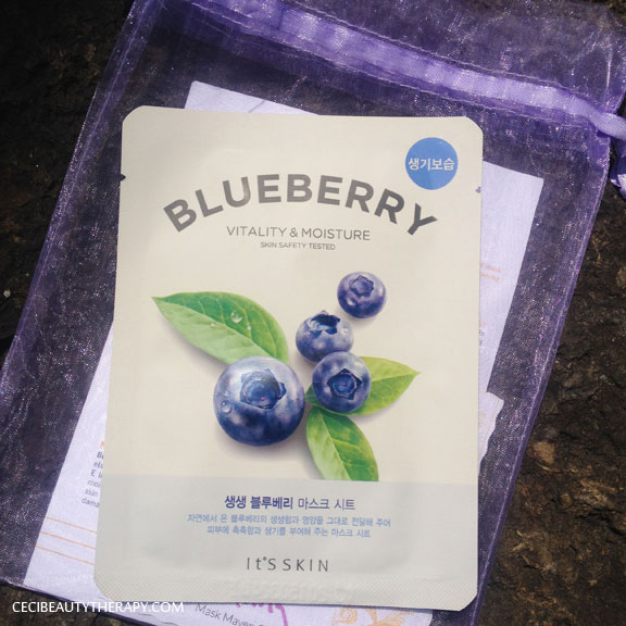 Beauteque Mask Maven June It's Skin Blueberry