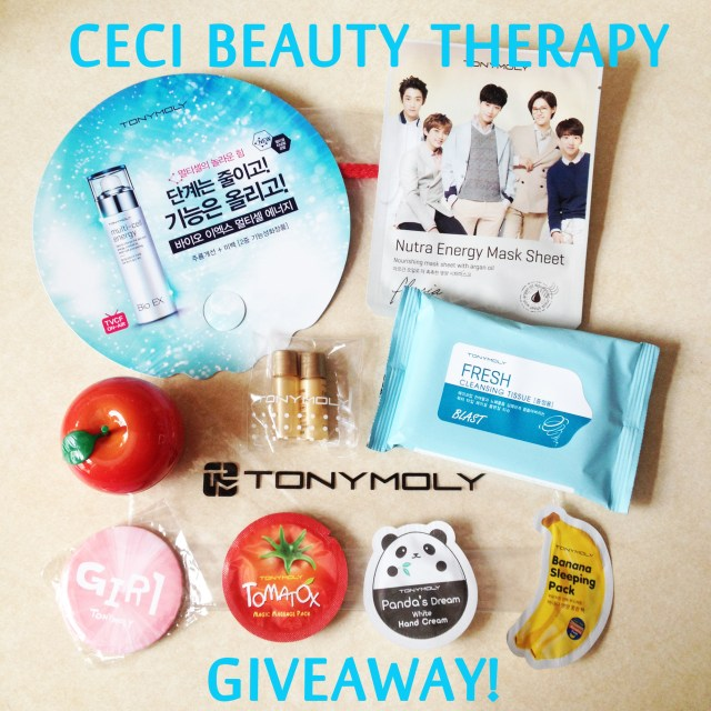 Tony moly flagship gift bag giveaway