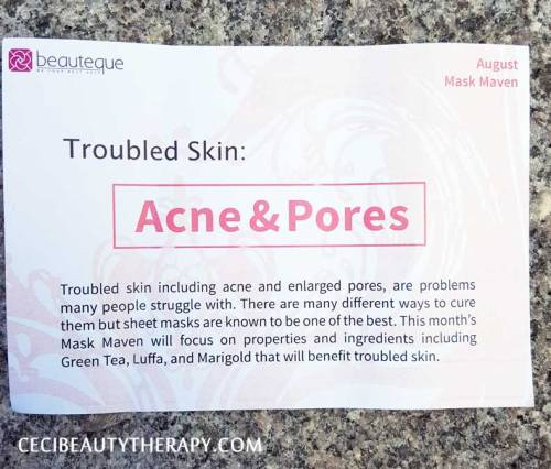 Beauteque-Mask-Maven-August-Review Info Cards