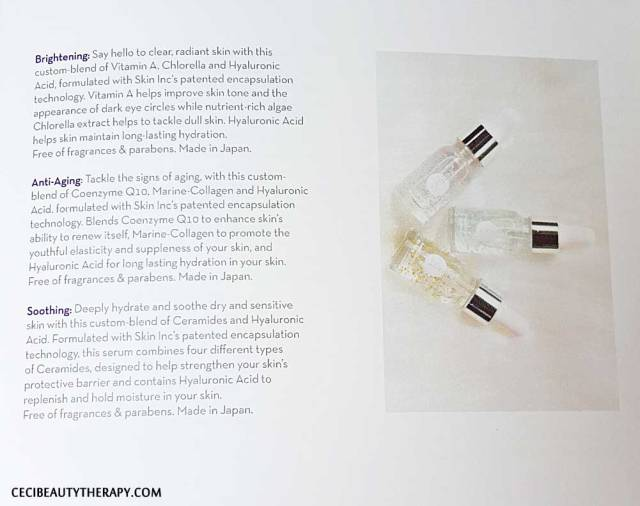 SKIN INC Seoulcialite Box 2.0 booklet info