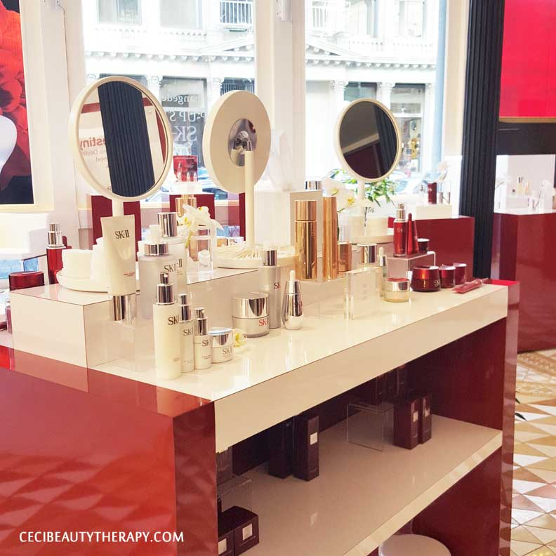 SK-II Beauty Playground. Sample at your heart's content!