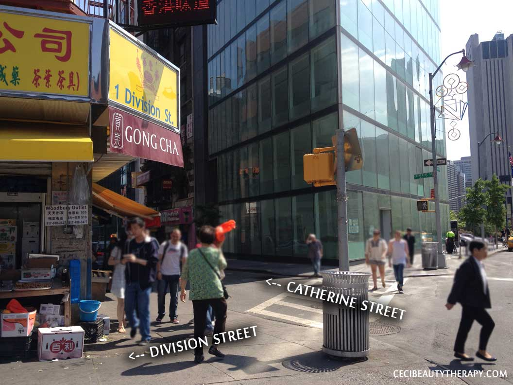Find the Amore store location in Chinatown NYC