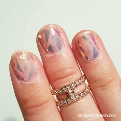 DIY Shattered Glass Nail Mani (16)