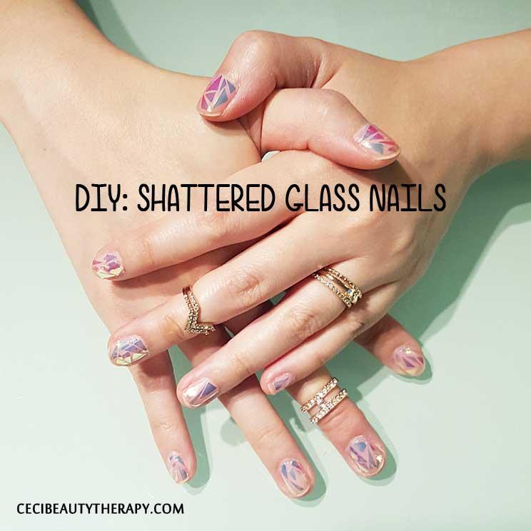 DIY: Shattered Glass Nails From Korea's UNiSTELLA (유니스텔라 네일_박은경)