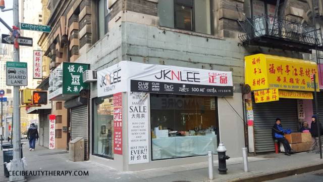 JKNLEE K-beauty Club Clio NYC Chinatown Sample Sale 2016 (1)