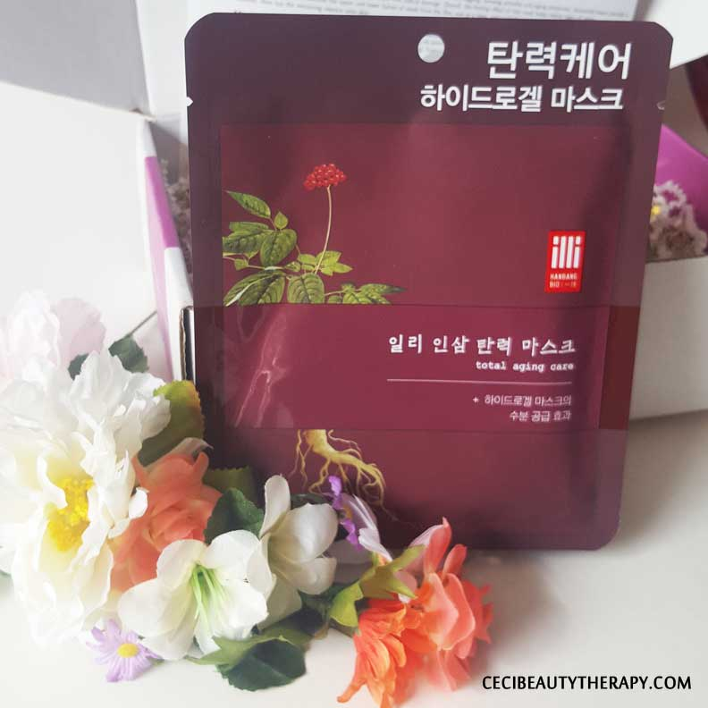 Jini Beauty Review Dry Mature Skin Feb16 (4) Illi Ginseng Mask Total Aging Care