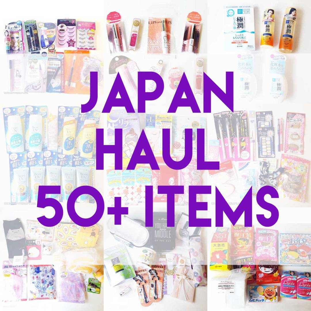 What To Buy In Japan! My Tokyo Haul (50+ Items)