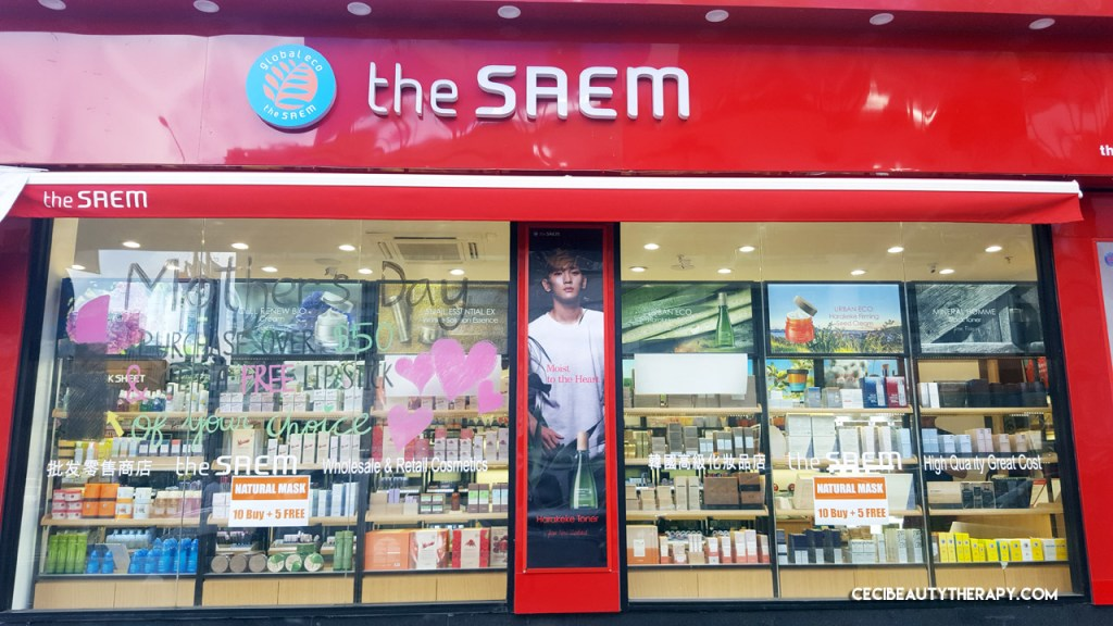 360 Photo Tour: The Saem in Manhattan/Chinatown, NYC