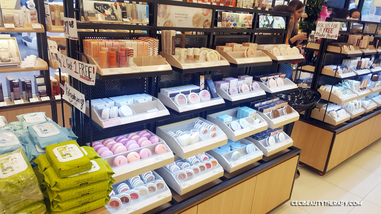 360 Photo Tour The Saem In Manhattan Chinatown Nyc Ceci Beauty Natural Tox Apple Mask Hair Care Kbeauty