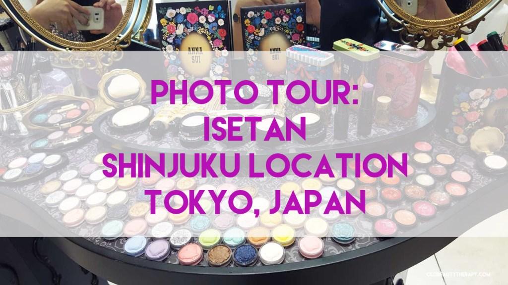 Photo Tour: Isetan Department Store – Shinjuku, Tokyo Location