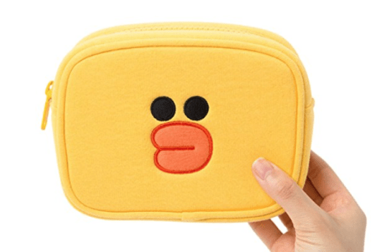 LINE FRIENDS Sally Multi-Funtional Pouch $16.95