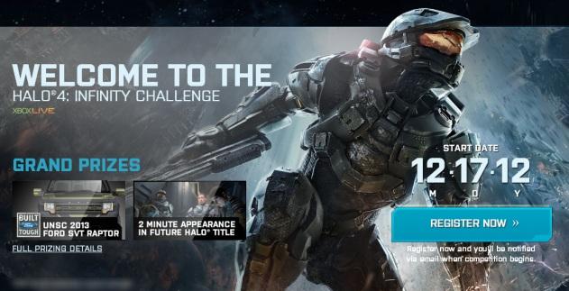 Halo 4 Infinity Challenge