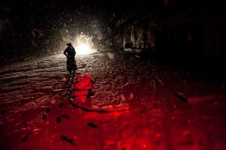 Era de noite China , 2014 © ceci de f