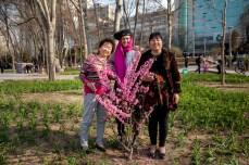 Amigos do acaso entre flores China , 2014 © ceci de f