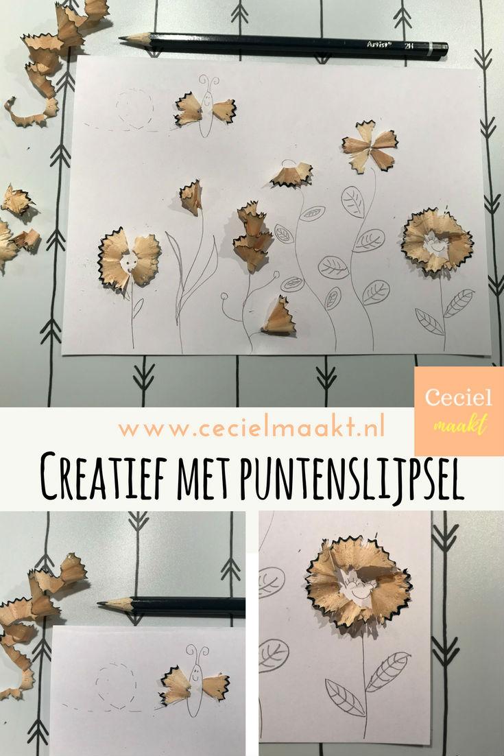 Creatief met puntenslijpsel