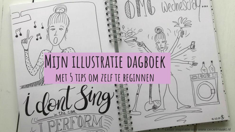 Mijn illustratie dagboek