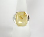 Bague quartz jaune collections couleur